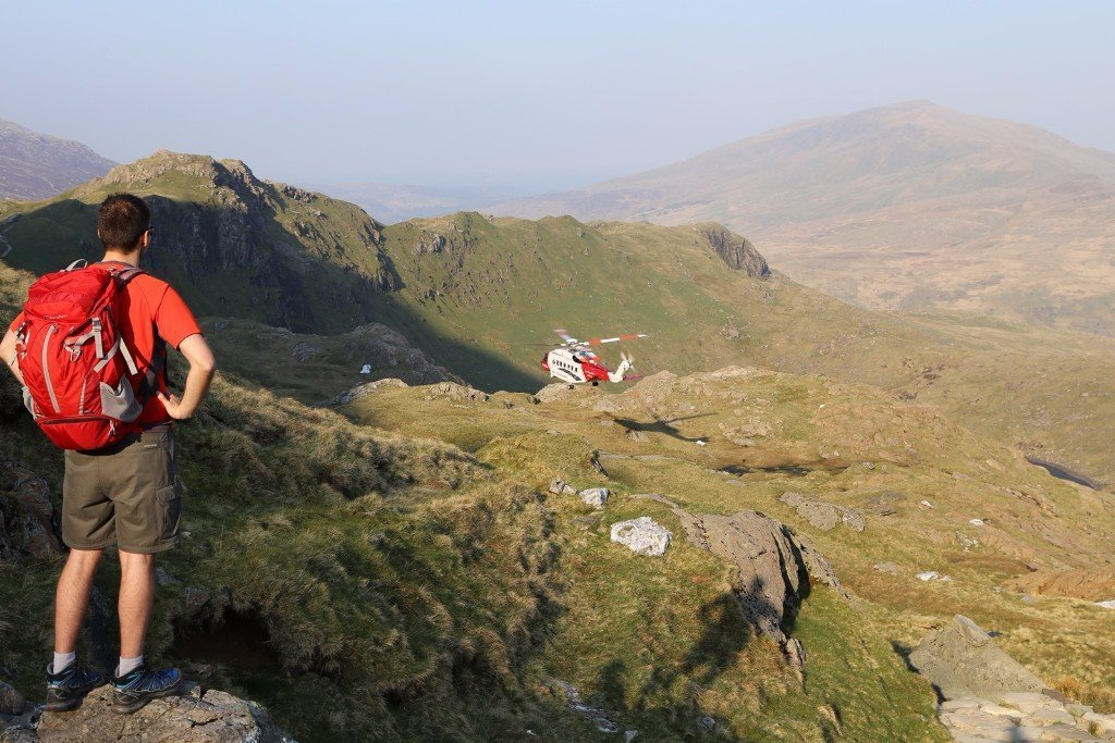 Pyg Track Walking Route up Snowdon